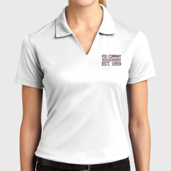 F2 Ladies Dri Mesh Polo